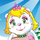 Dress up the polar bear princess in her cold environment she needs warm outfits