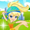Hi girls! Do you recognize Polly? The cute girl who wants to go to an adventure