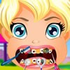 Hi girl. Welcome to another great dentist game with our adorable Polly Pocket.
