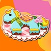 Make a beautiful little pony cake for your sister. Follow every steps of this game and you will have a cute pony cake.