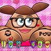 Help a good friend of yours in this Pou girl manicure game  and she will be lea