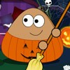 The 2014 Halloween is comming, let's help Pou cleanup his house, prepare for th