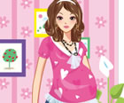 Who says pregnancy is not fashionable? Play this game and see how a pregnant wo