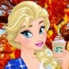 You can dresss up Princesses Elsa, Anna, Moana and Aurora with fall fashion clo