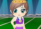 princess leigh is not your ordinary princess. she loves running and is particip