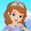 Cute Princess Sofia is so excited because she i...