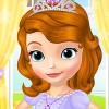 Help Princess Sofia to make her complete make up. Help her to wsh her hairs. Th