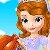 Princess Sofia will cook turkey for thanksgiving at her palace. Let's shop ingr