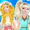 Hooray, at last summer is here! Princesses Aurora and Elsa decided to make a pa
