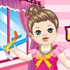 Step into this lovely doll house and start fashionizing this charming little ba