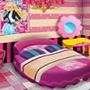 Decorate a realistic bedroom for famous doll Barbie by playing our lated decora