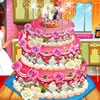 Wedding cake is very important for a wedding. Brides wants a perfect looking cake for their weddings. You can decorate a nice lokking realistic wedding cake by playing our latest cake decorating game.