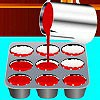 Hey girls, let's start to learn how to cook a delicious Red Velvet Cupcakes.