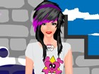 Emo fashion is very popular among young people nowadays.in this great game you