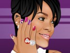 Rihanna needs her nails done for an awards show. Help Rihanna show her great st