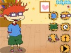 Rugrats, Chuckie sports uncontrollable red hair,  glasses and bucked teeth. He
