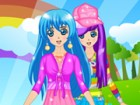 Check out Runo Misaki's fashionable and colorful wardrobe, which would make any