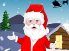 Santa Clause preparing for big festival nights, help him to appear with perfect