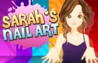 Sarah loves to paint her nails to match her outfits! Now you can too in Sarah's