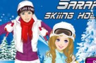 Sarah and her boyfriend are going to a skiing holiday at the mountain. It is re