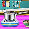 Enjoy this great cooking game and learn how to cook Sardinian Lobster Spaghetti