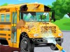 Your school bus is very dirty and you need to clean it up. Have fun with our la