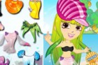 Play this fun dress up game for girls and dress up this sea princess. Cute sea