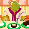 Shrek is very fond of cookies, especially if they have chocolate in them. Every