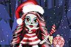 Tonight is Christmas night. Skelita wants to go christmas party with her friend