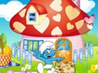 You can decorate a lovely smurf house in this cool decorating game.