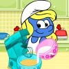 We have a new fun cooking game in which the cute and pretty Smurfette will show