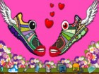 Give us a sneak peek of your footloose fancies!<br /><br />How to play Sneaker