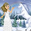 Christina the snow fairy is going to visit the earth today. She has sought your