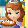 Help Sofia the First in this pumpkin tart cooki...