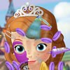Sophia the First is looking for someone that can help her in this princess makeover game and you will need to try and give her a totally new look that she can be proud of.