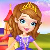 Welcome back to the Disney Universe! Join Princess Sofia in her latest adventures and start having some fun with all your favorite characters from the famous series. There is a royal ball later tonight and our little princess is planning on being the prettiest girl there. To achieve this she is going to need your help in the fashion department. Luckily for you, she is a princess so she has a lot of clothes in her closet. Have a look through all of them and dress up Princess Sofia in the best looking princess outfit. After that you may start working on her makeover to make her look amazing. Take your time and try out different types of make up on her until you find the perfect color. With your help she will surely be the center of attention.