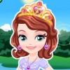 Princess Sofia loves to play at forest. One day when she is playing with butter