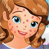 It has all kinds of important stuff royal do. The princess is getting ready for a very busy day.  Help her to look the part in this cool makeover game. Please clean all pimples.
