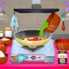 Play our latest cooking game and cook traditional Spanish Fish And Chorizo Soup