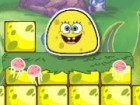 Spongebob just transform himself into a jelly. Now he will have move like a jel