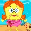 Sponge Sue is very interested in Sponge Bob. However, she has not been able to
