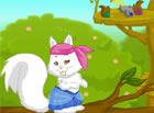 Click on an item to dress-up the squirrel (you can also change the color of t