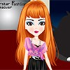 Makeover and dressup Tina as a super star look. Spa and treatment her face and