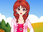 Get this cute teen girl ready for her fun walk in the park, on a lovely autumn