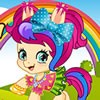 Meet Missy, an adorable baby pony who loves to dress up. She's super girly and