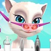 You have a very special patient in this Talking Angela nose doctor game as he came to you with a serious problem. Her voice sounds funny because of his cute nose so now you have to make her feel like new.