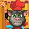 Talking Tom will be helping you in this new Halloween 