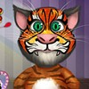 Your client is famous in this Talking Tom face tattoo game and he would like to get his appearance changed with this funky new tattoo that will go on his face. Come up with some rad ideas for it.