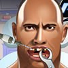 The Rock is here in this new dentist game and you will have to be a good docto