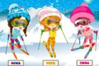 Nina, Yoyo and Emma are best friends and they have a common passion for skiing!